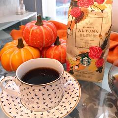 スタバ/スターバックス/コーヒー/秋/インテリア スターバックスのコーヒー『オータムブレン…