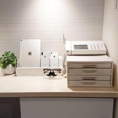 充電ステーション/スマホ/インテリア/LIMIAインテリア部/収納/雑貨/... 沢山あるスマホやタブレットを充電ステーシ…