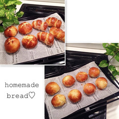 手作りパン/パン/手作り/スイーツ/ハンドメイド/おうちごはん わたしの手作り☺︎ホームベーカリーに挑戦…