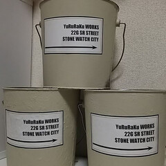 空き缶/リメイク/リメ缶/2018/DIY サイズ大きめのリメイク缶☆ 初めてオリジ…