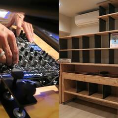 DJブース/レコード/趣味/要望/特注家具 これに合わせたものを作って! これがやり…