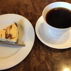 美味しいコーヒー 買い物帰り・・・疲れて休憩☕️ なつめコ…