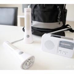 保存水/懐中電灯/6wayラジオ/持たない暮らし/ランタン/防災グッズ/...  停電時にとっても 役立ったアイテムです…(1枚目)