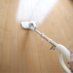 床掃除/スチームクリーナー/持たない暮らし/シンプリスト/イコールしんぷる/インテリア/...  これに出会ってから 床掃除が すごくラ…