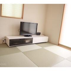 ロールスクリーン/畳/和室/マイホーム/住まい/暮らし  畳は同じモノだけど 向きを変えて置くと…