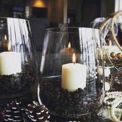 コーヒー/IKEA/コーヒー豆/キャンドル/アロマキャンドル/リラックス 見ためだけじゃない👀香りも楽しめるキコー…