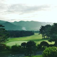 ゴルフ/おでかけ 今日は気分転換 本日ゴルフ日和でした⛳️