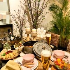 ピクニック/テーブルコーディネート/インテリア/フード/グルメ/春のテーブル/... お家ピクニック🍀