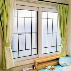 内窓/DIY 娘の部屋を可愛らしくしてあげたいと思い、…