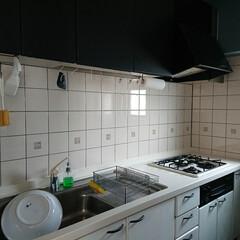 こそうじ/中性洗剤/キッチン/丸洗い/キッチン掃除/掃除/... 中性洗剤(台所用洗剤)とスポンジで 作業…