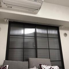 カフェ風/エコ/結露防止/結露対策/結露/内窓DIY/... 内窓を設置して窓を二重窓にしました╰(*…