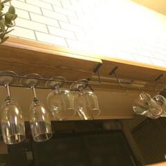 ブライワックス/1×6/コーヒーカップ/ワイングラス/カフェ/ブルックリン/... ブルックリン カフェ計画。 セリアのアイ…