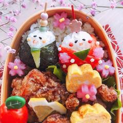 わっぱ弁当/わっぱ/ひな祭り弁当/ひな祭り/お弁当のおかず&便利グッズ/ピンク 2020/3/3   🌸ひな祭り弁当🌸 …