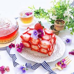 今日のおやつ/手作りおやつ/タルギケーキ/フルーツサンド/いちごサンド/おうちカフェ/... 2020/6/1  何度かInstagr…