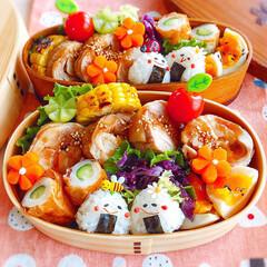 鶏チャーシュー/息子弁当/自分弁当/わっぱ弁当/曲げわっぱ/お弁当/... 2019/7/30    今日のお弁当 …