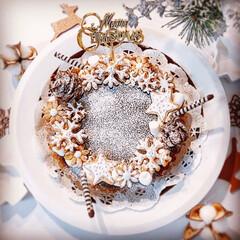 手作りタルト/タルト/クリスマスケーキ/チョコタルト/生チョコタルト/クリスマス2019 2019/12/26   昨日作った生チ…