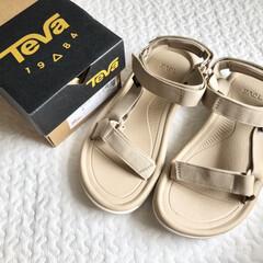 レディースファッション/ファッション/Teva/スポーツサンダル/スポサン/夏ファッション 今年の夏は、TEVAのスポサンを購入しま…