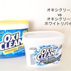 洗濯/オキシ漬け/オキシクリーンホワイトリバイブ/オキシクリーン オキシクリーンの新商品『オキシクリーン …