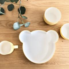 こども食器 アッシュコンセプト マグ イエロー / かわいい | h-concept(その他子ども用食器)を使ったクチコミ「娘の愛用している食器は全て、tak.のマ…」