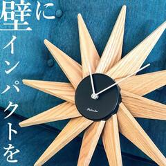 時計/インパクト/時間/インテリア/おしゃれ/カッコいい/... 『壁にインパクトを!』  壁掛け時計はも…