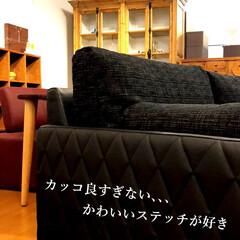 ソファ/国産/カッコいい/ステッチ/キルティング/家具/... カッコかわいいソファが入荷してきましたー…