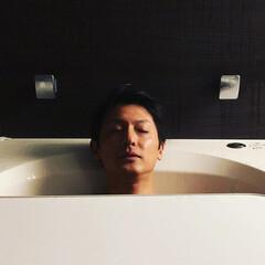お風呂/雪かき/福井/福井県/越前市/北陸/...  寒い日はゆっくりお風呂だよねー。 男は…