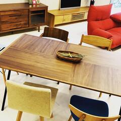 家具/インテリアコーディネート/コーディネート/素材/無垢/自然塗装/... ・全員同じ椅子にする。 ・素材を合わせる…