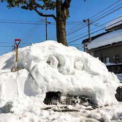 インスタ映え/大雪/福井/雪/アンシャンテタナカ/福井家具/... アンシャンテにインスタ映え?スポットが(…