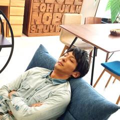 アンシャンテタナカ/家具/福井県/インテリア/肩こり/リビング/... 別に寝ているわけではありません(*´з`…