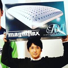 マニフレックス/まくら/枕/ピローグランデ/快眠/寝心地/... 来たー!  『マニフレックス』の人気の枕…