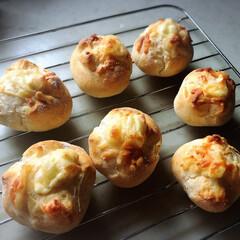 発酵いらずで簡単/チーズも大好き/パン大好き/いい香り/美味しい/簡単 今日は朝から雨☂️ 家から出ない週末にも…