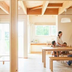 住まい/一戸建て/注文住宅/木の家/健康/アレルギー体質/... 一級建築士のT様自ら設計されたお住まい。…