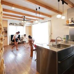 住まい/住宅/注文住宅/一戸建て/高断熱/蓄熱暖房機/... 木のぬくもり溢れるT様邸。 建築関係の仕…