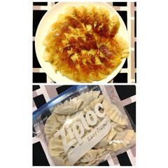 大葉/手作りご飯/忙しい日/ご飯がススムおかず/手作り餃子/餃子/... 長女が作ってくれた 大葉がたっぷりの餃子…