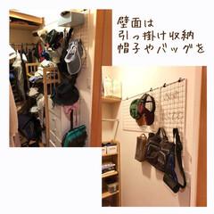 整理収納アドバイザーバービースタイル/衣類収納/畳む/掛ける収納/クローゼット/クローゼット収納/... クローゼットのお片付け作業   片側に掛…(3枚目)