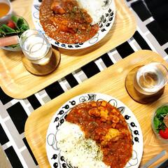 ラク家事/ホットクック/カレー/おうちごはん/キッチン 自動調理鍋「ホットクック 」でチキンと野…