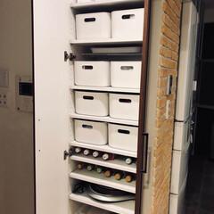 収納庫/収納/収納棚/整理収納アドバイザー/インテリア/家具/... バービースタイルメンバー みわこさん宅の…