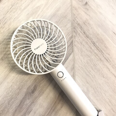 フランフラン/スタイリッシュ/扇風機/おでかけ/暮らし/住まい 昭和な私は、夏になると、うちわや扇子を愛…