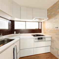 キッチン/システムキッチン システムキッチンはクリナップのラクエラ。…