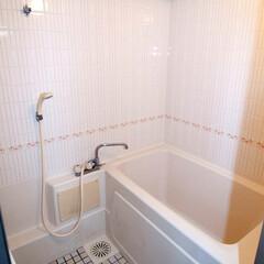 お風呂/風呂/バス/浴室/ユニットバス 施工前はタイル調の浴室でした