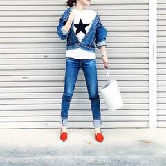 デニムコーデ/おでかけ/ファッション 今日の主役はAG Jeans のスキニー…