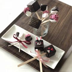 バレンタインラッピング/バレンタインレシピ/バレンタイン/バレンタイン2020 バレンタインレシピ♡ミルクやコーヒーに溶…