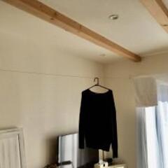 室内物干しワイヤーpid 9718r(物干しハンガー、ピンチ)を使ったクチコミ「室内干しにはpidが便利! 梅雨時期の部…」