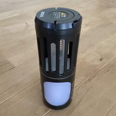 殺虫/虫除けグッズ/虫対策/虫よけ/虫除け 充電式の携帯型殺虫灯。 ライトも付いて、…