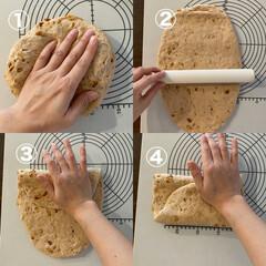レシピ/レシピブログ/パン/パン作り大好き/パン作り/パン作り大好きな方と繋がりたい/... 【大きなパンの成型方法】  〜大きなパン…