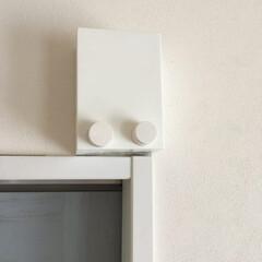 室内物干しワイヤーpid 9718r(物干しハンガー、ピンチ)を使ったクチコミ「梅雨時期や冬の室内干しに便利なpid。 …」