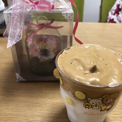 おうち時間/メロンパン/ダルゴナコーヒー/母の日 今流行りの(ダルゴナコーヒー)を娘っ子が…