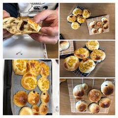 コーンパン/レーズンパン/パンづくり パン作り〜。  なかなか上手く出来なくて…
