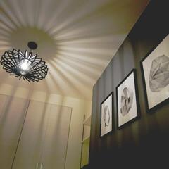 原状回復可能/賃貸マンション/賃貸/DIY/暮らし/我が家の照明 モダンシックテイスト