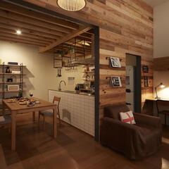 キッチン/木/木材/テーブル/チェア/スツール/... ワインを選ぶように、満たされる大人のこだ…